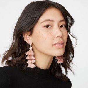 BRAND NEW! Club Monaco Tiered Tassel Earrings